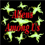 Aliens Among Us Neon