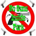 No Guns Inside Park