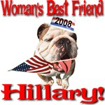 Woman's Best Friend Hillary 2008