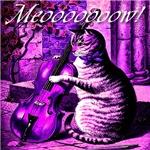 Violet Kitty Fiddling