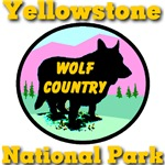 Yellowstone National Park Wolf Country