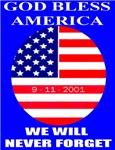 God Bless America 9-11-2001