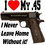 I Love My .45 Constant Companion