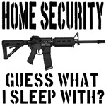 HOME SECURITY Guess What I Sleep With?