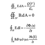Maxwell Integral Equations