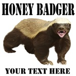 Honey badger is crazy