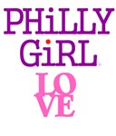 Philadelphia Philly Girl City of Brotherly Love
