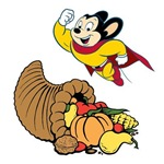 Mighty Mouse Thanksgiving
