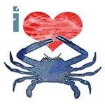 I Love Crab