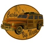 Catch a Wave Woodie Surf Wagon