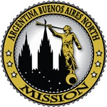 South America LDS Missions - Classic Seal Gold