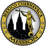 Mexico Cuernavaca LDS Mission Classic Seal Gold