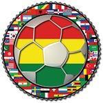 Bolivia Flag World Cup Soccer Football Futbol Worl