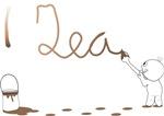 Cute Drip Guy Painting Tea