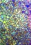 Purple and Yellow Mosaic Pattern