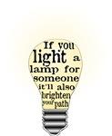 Inspiring saying - Help Thy Neighbor