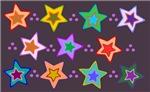 Groovy Star Pattern