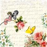Vintage Fairy Garden Collage