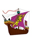 13th century English Fighting Ship