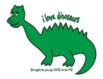 I LOVE DINOSAURS - LOVE TO BE ME