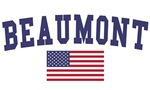 Beaumont Ca US Flag