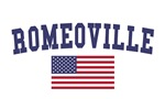 Romeoville US Flag