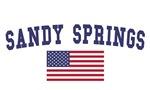 Sandy Springs US Flag