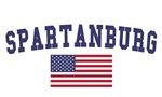 Spartanburg US Flag