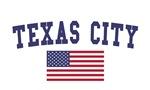 Texas City US Flag