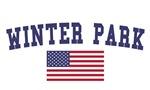 Winter Park US Flag