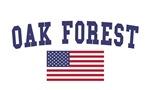 Oak Forest US Flag