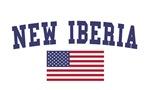 New Iberia US Flag