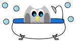 Owl in Tub