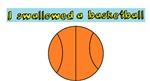 I swallowed a basketball