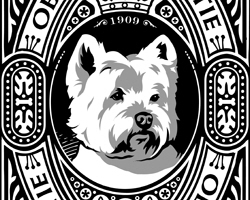 Obey the Westie! 1909