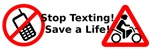 Stop texting! Save a Motorcyclist!