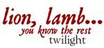 Lion, Lamb... (Twilight)