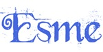 Esme (blue script)
