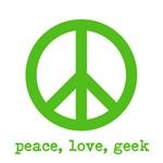 Peace Love geek
