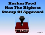 Kosher Food Has The Highest Stamp Of Aproval