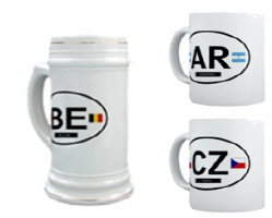 World Coffe Mugs & Beer Steins