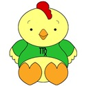 Virgo Cartoon Chicken