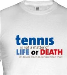 Tennis Is A Matter Of ...