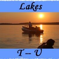 Lakes T -- U