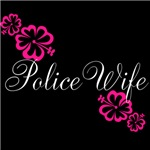 Police Wife for Dark Fabric