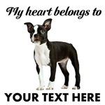 Personalized Boston Terrier Custom