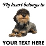 Personalized Wirehaired Dachshund T-Shirts