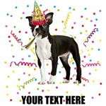 Personalized Boston Terrier Birthday