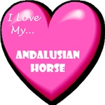I Love My Andalusian Horse