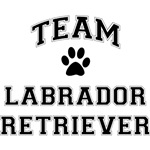 Team Labrador Retriever T-Shirts